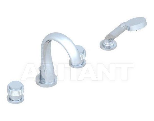 Купить Смеситель для ванны THG Bathroom U4B.112B Diplomate grooved rings
