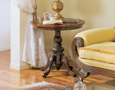 Купить Столик приставной Sanvito Angelo Bianco 2990 TAVOLINO rotondo