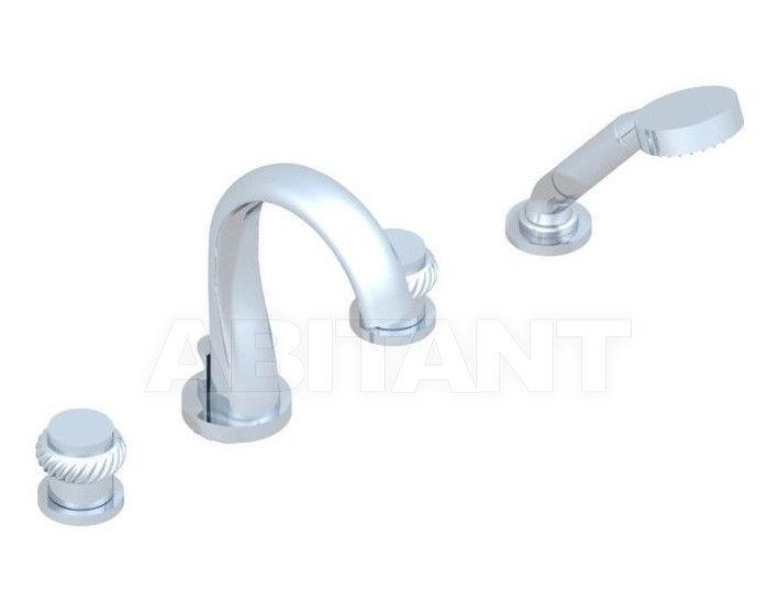 Купить Смеситель для ванны THG Bathroom U4C.112B Diplomate roped rings