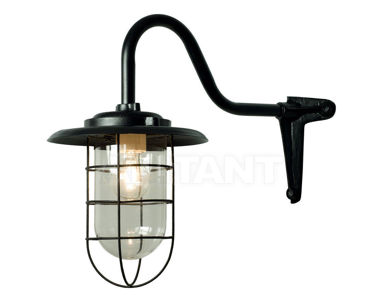Купить Фонарь Davey Lighting Wall Mounted Lights 7677/BL/100C/SC + 7677/GA/GD/100