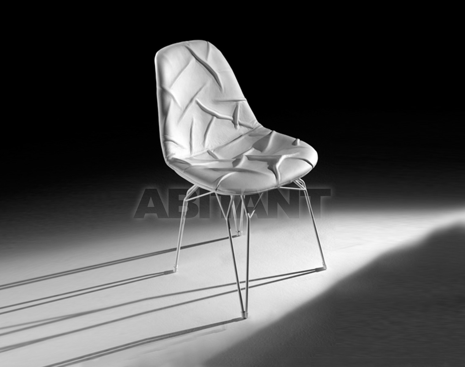 Купить Стул Kubikoff Stolt Design Diamond'POP'Chair' Duevu'Wrinkled'leather