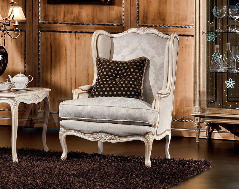Купить Кресло Sanvito Angelo Italian Classic Style 3435 POLTRONA