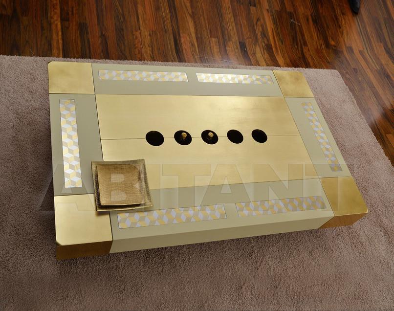 Купить Столик журнальный Vismara Design Mosaik CIAIKA 170 MOSAIK ORO-CREAM