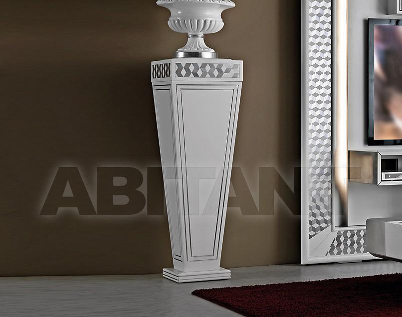 Купить Подставка декоративная Vismara Design Mosaik VASE 125 - MOSAIK White