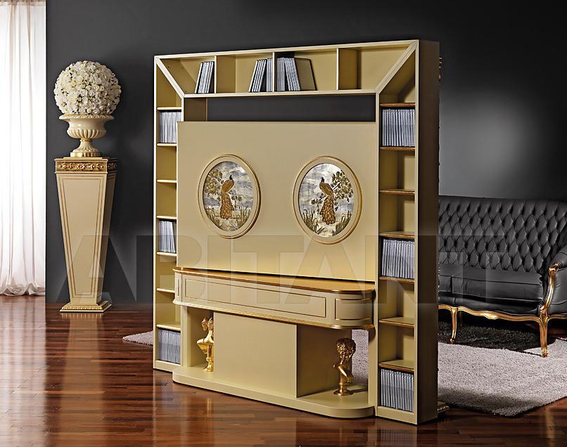 Купить Стойка под аппаратуру Vismara Design Baroque REVOLVING HOME CINEMA - BAROQUE