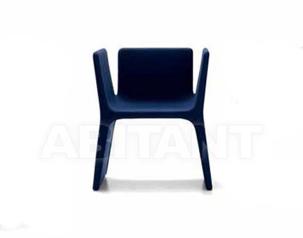 Купить Стул с подлокотниками Arflex Estero 2012 11942 dark blu