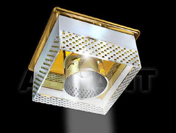 Купить Встраиваемый светильник Gumarcris  Crystal Spot Lights 2417OR