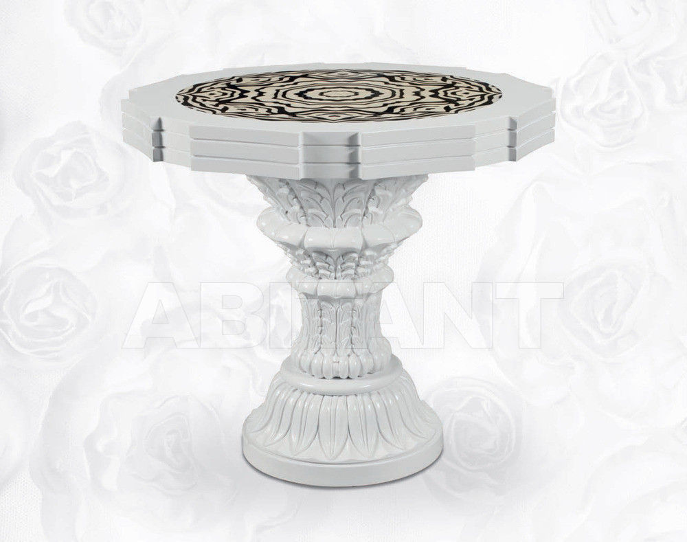 Купить Стол Isacco Agostoni Contemporary 1354 ROUND SMALL TABLE