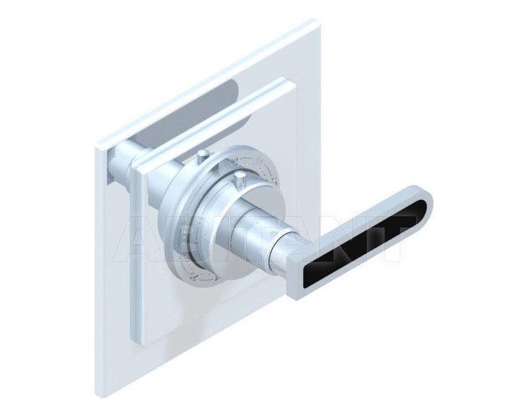 Купить Смеситель термостатический THG Bathroom A6P.15EN16EC Profil black Onyx with lever