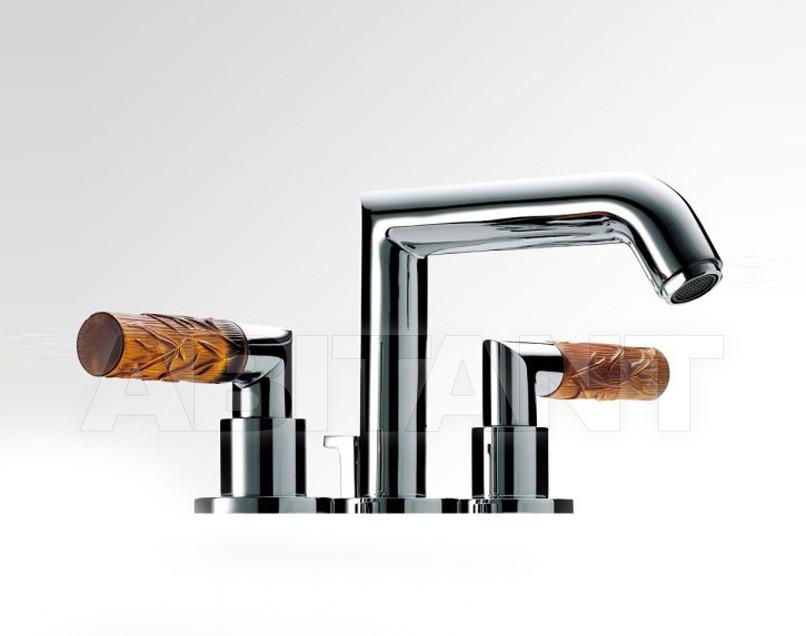 Купить Смеситель для раковины THG Bathroom A34.151 Bambou Amber crystal