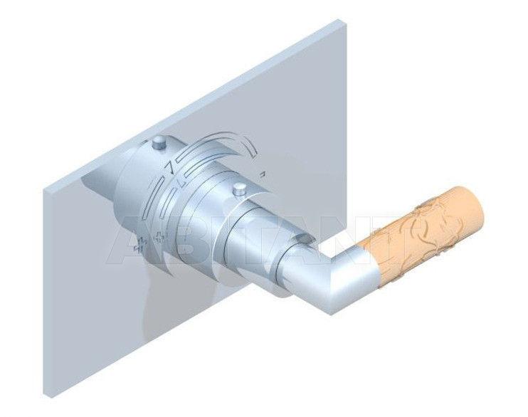 Купить Смеситель термостатический THG Bathroom A34.5100B Bambou Amber crystal