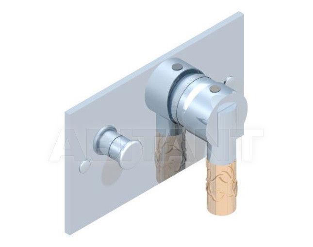 Купить Встраиваемые смесители THG Bathroom A34.6550 Bambou Amber crystal