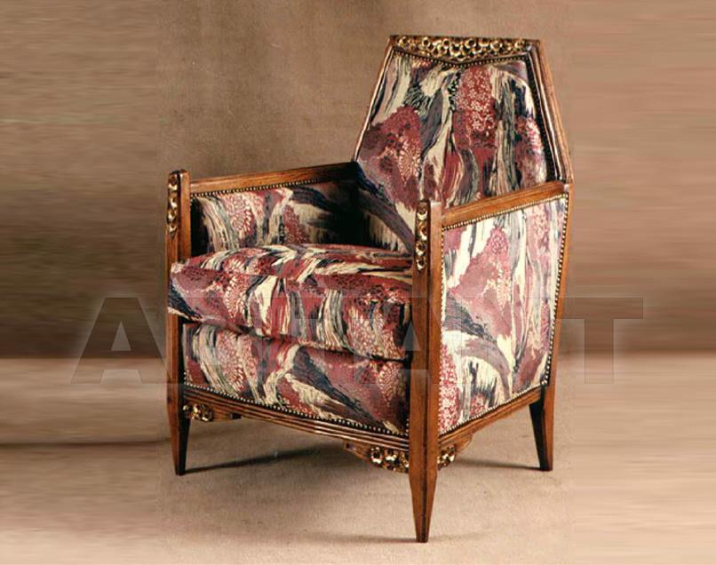Купить Кресло P. & G. Cugini Lanzani Art Deco 9324