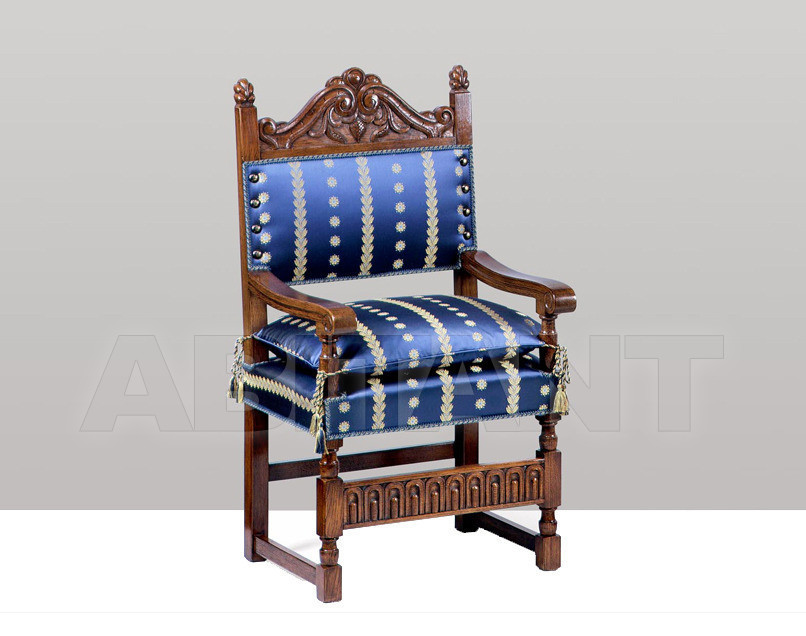 Купить Стул с подлокотниками P. & G. Cugini Lanzani 2013 9502