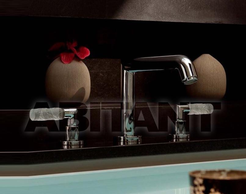 Купить Смеситель для раковины THG Bathroom A35.25SG Bambou clear crystal