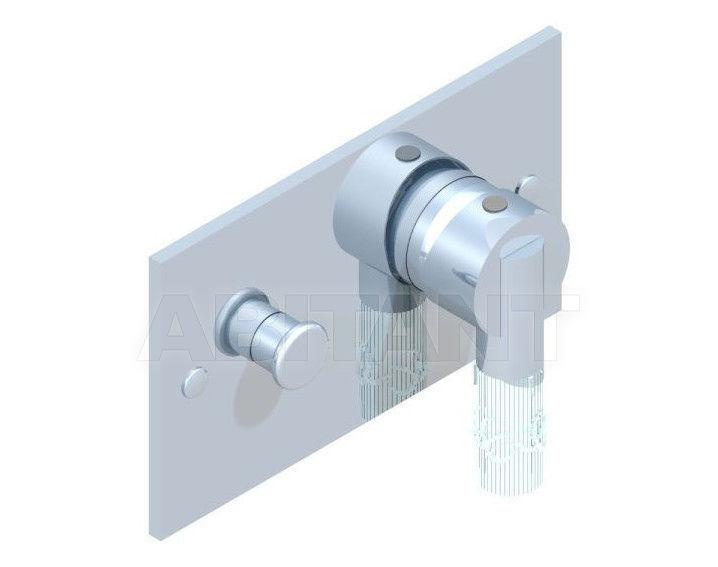Купить Встраиваемые смесители THG Bathroom A35.6550 Bambou clear crystal