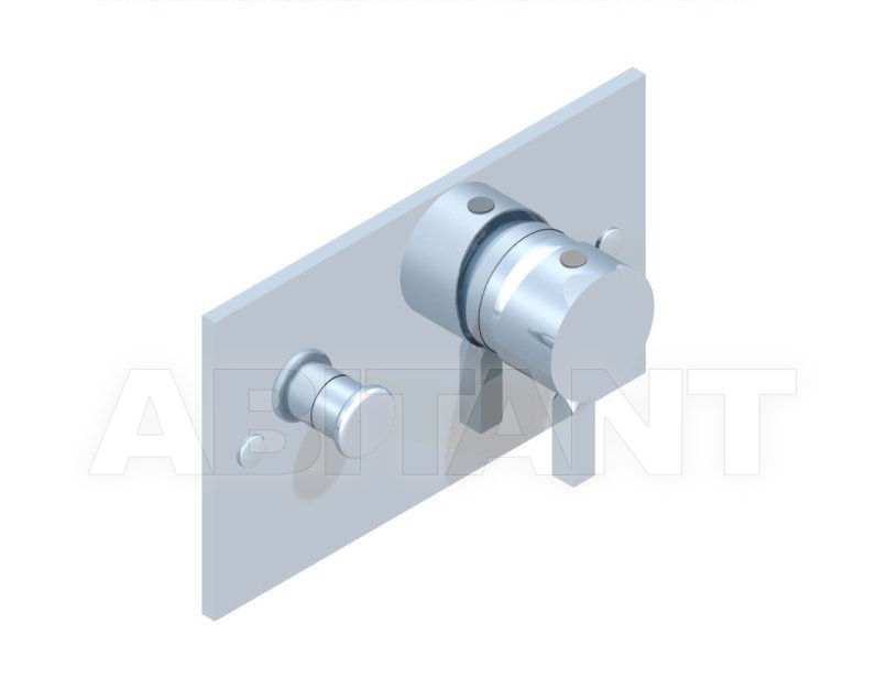 Купить Встраиваемые смесители THG Bathroom A2A.6550 Métropolis clear crystal