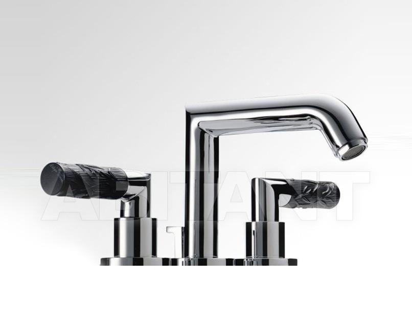 Купить Смеситель для раковины THG Bathroom A33.151 Bambou black crystal
