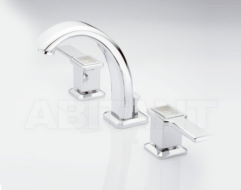 Купить Смеситель для раковины THG Bathroom A2B.151M Métropolis clear crystal with lever