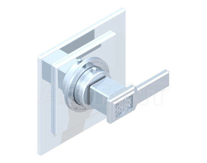 Купить Смеситель термостатический THG Bathroom A2B.15EN16EC Métropolis clear crystal with lever