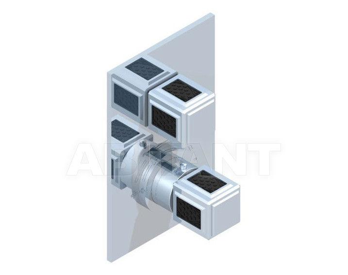 Купить Смеситель термостатический THG Bathroom A2L.5300B Métropolis black crystal