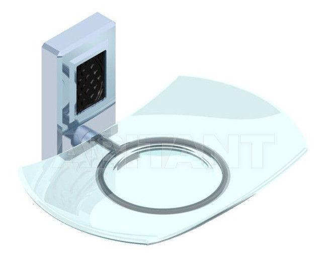 Купить Мыльница THG Bathroom A2L.500 Métropolis black crystal