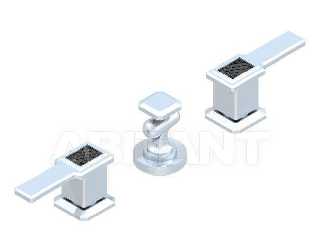 Купить Смеситель для биде THG Bathroom A2M.207 Metropolis black crystal with lever