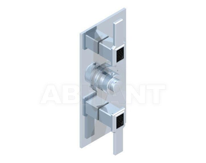 Купить Смеситель термостатический THG Bathroom A2M.5400B Metropolis black crystal with lever