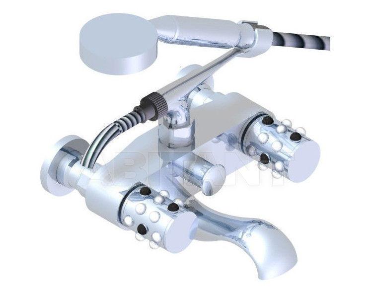 Купить Смеситель для ванны THG Bathroom A2W.13B Mossi clear crystal & black onyx