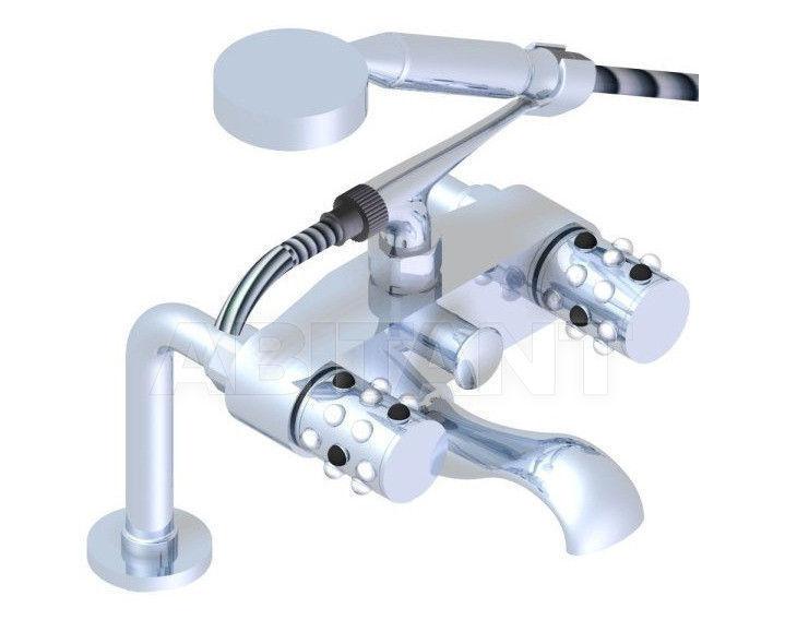 Купить Смеситель для ванны THG Bathroom A2W.13G Mossi clear crystal & black onyx