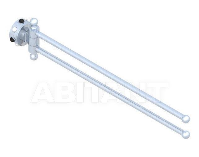 Купить Держатель для полотенец THG Bathroom A2W.522 Mossi clear crystal & black onyx