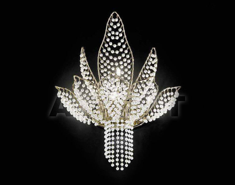 Купить Бра IDL Export Dolce Vita Luxury Lighting 436/4+1A SWAROVSKI ELEMENTS