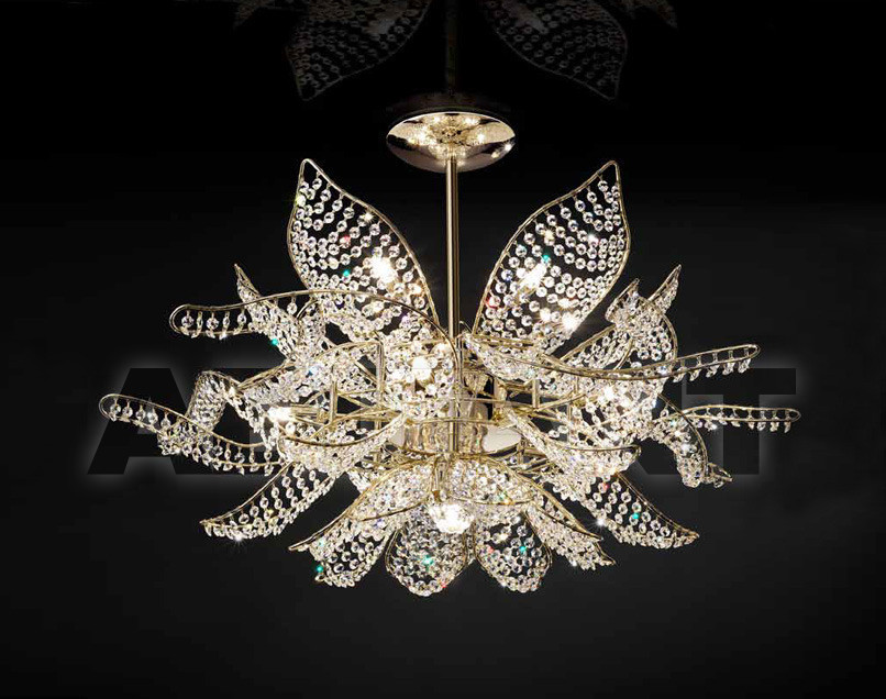 Купить Люстра IDL Export Dolce Vita Luxury Lighting 436/10+1PF SWAROVSKI ELEMENTS