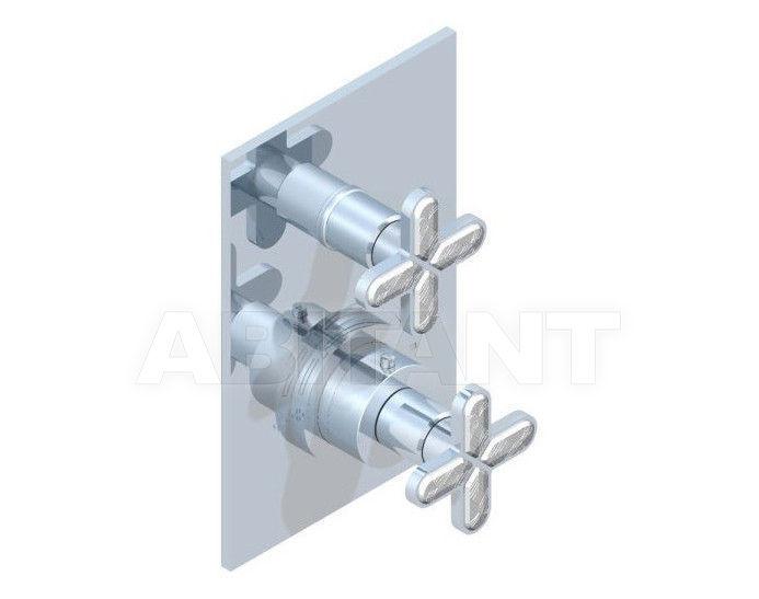 Купить Смеситель термостатический THG Bathroom A6G.5300B Profil Lalique clear crystal