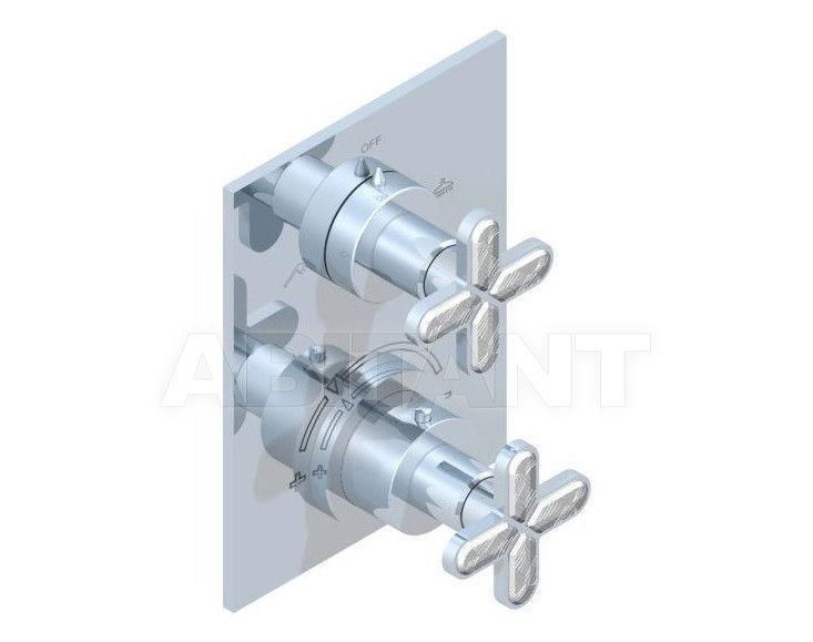 Купить Смеситель термостатический THG Bathroom A6G.5500B Profil Lalique clear crystal