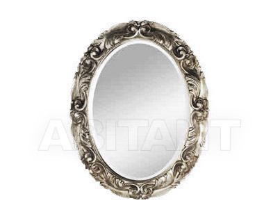 Купить Зеркало настенное Vaccari International Gli Specchi Di Alice 1 6 4 1 argento