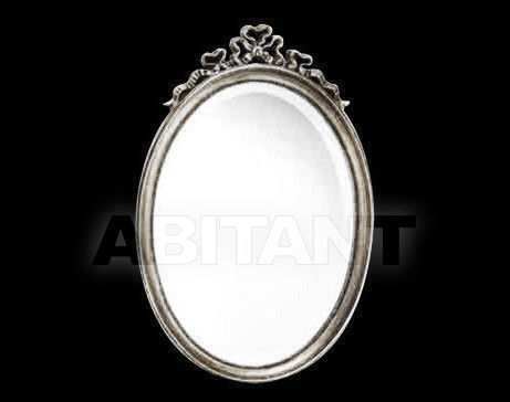 Купить Зеркало настенное Vaccari International Gli Specchi Di Alice 1 6 8 0 argento