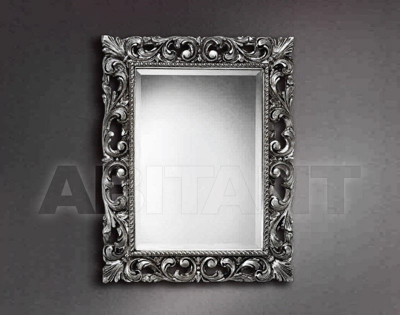 Купить Зеркало настенное GIULIACASA By Vaccari International Gli Specchi Di Alice 1 2 6 0 argento