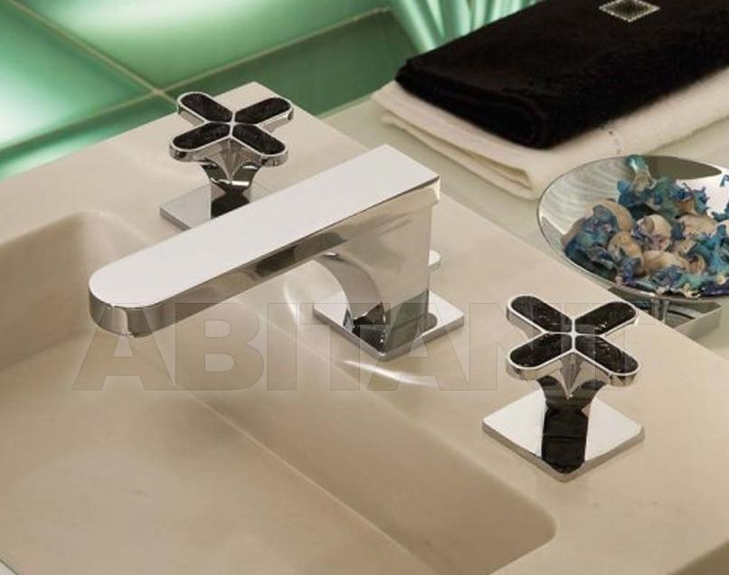 Купить Смеситель для раковины THG Bathroom A6L.151M Profil Lalique black crystal