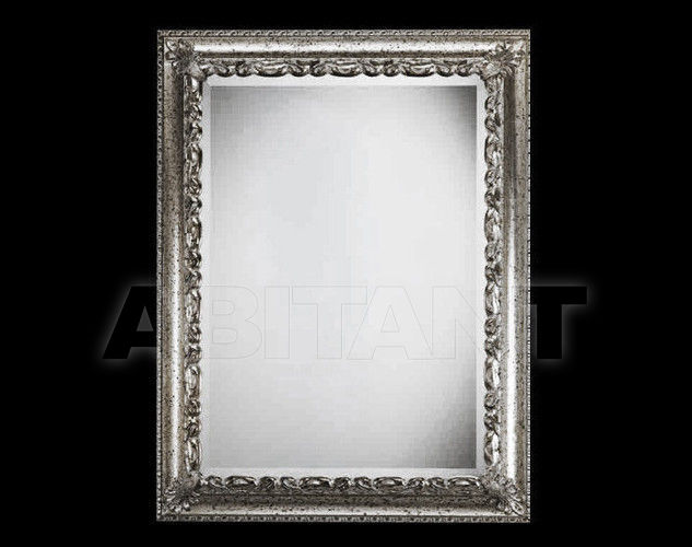 Купить Зеркало настенное Vaccari International Gli Specchi Di Alice 1 4 2 1 argento