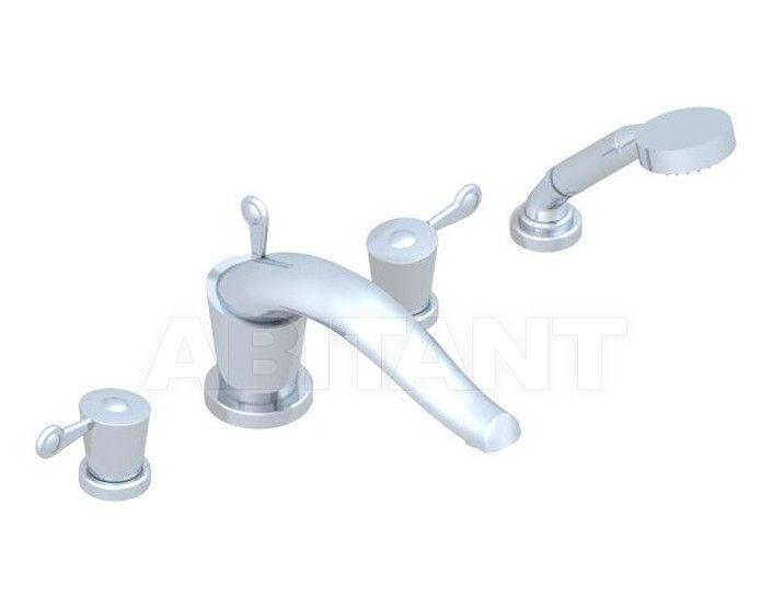 Купить Смеситель для ванны THG Bathroom U3B.112BSG Bagatelle metal with lever