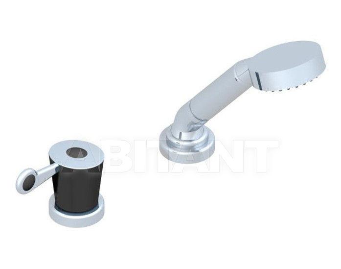 Купить Смеситель для ванны THG Bathroom  U3F.6532/60A Bagatelle black stone with lever