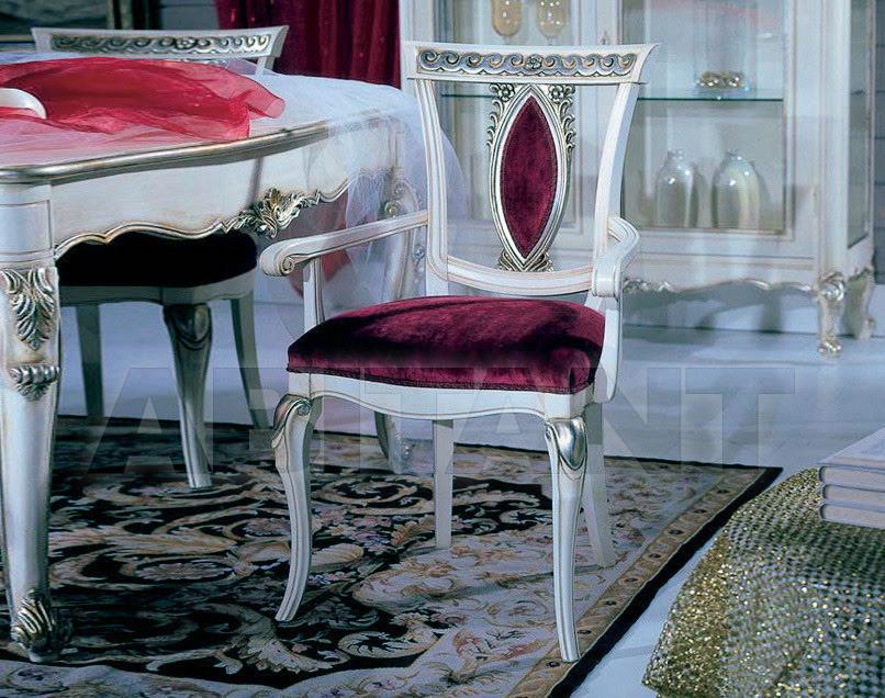 Купить Стул с подлокотниками GIULIACASA By Vaccari International Romantiche Atmosfere 705
