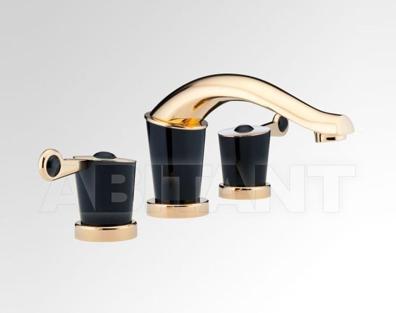 Купить Смеситель для раковины THG Bathroom U3F.151 Bagatelle black stone with lever