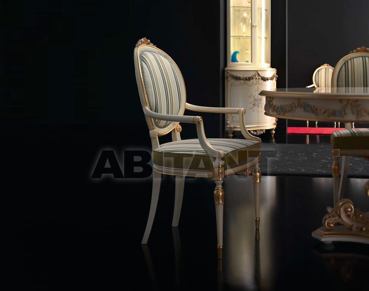 Купить Стул с подлокотниками Paolo Lucchetta & C. snc Margaret DA.014.04