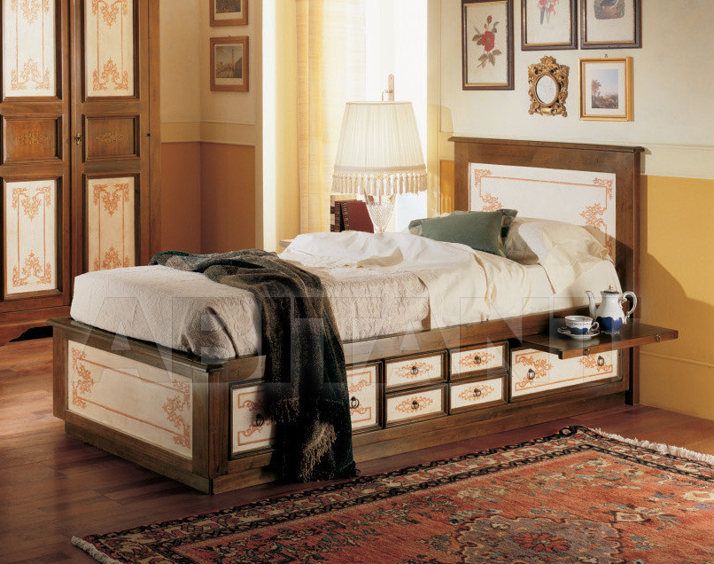 Купить Кровать Tiferno Mobili Cantico Ligneo 2947