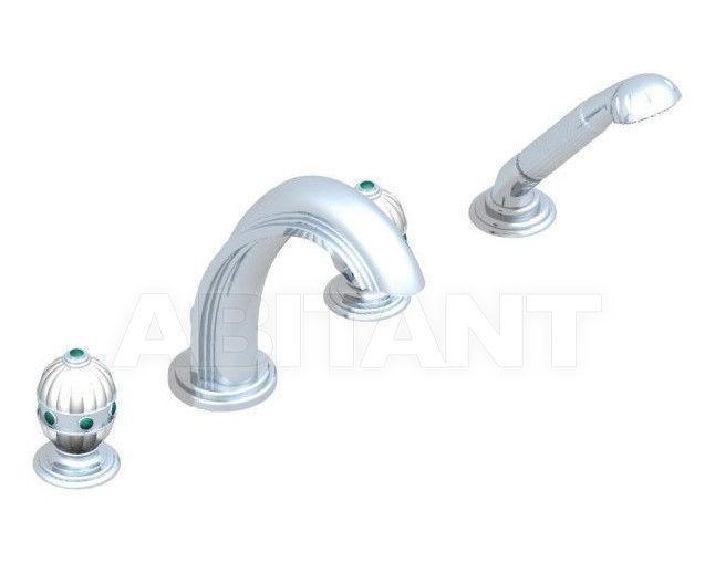 Купить Смеситель для ванны THG Bathroom A1J.112BG Amboise Malachite