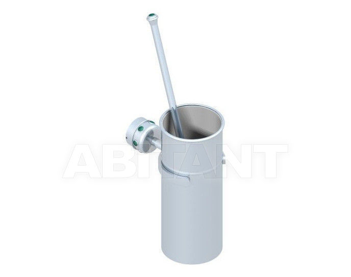 Купить Щетка для туалета THG Bathroom A1S.4720 Cheverny Malachite