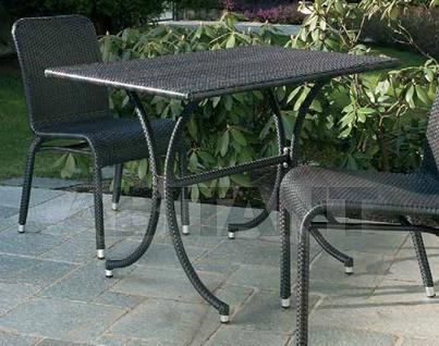Купить Стол для террасы Frigerio Carlo Funny Wicker TTF70x100