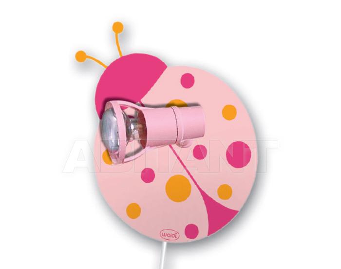 Купить Светильник для детской  Waldi Leuchten Lampen Fur Kinder 2012 82215.0 rosa